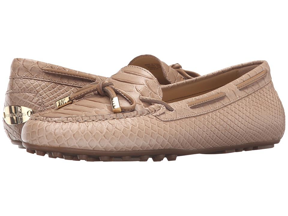 MICHAEL Michael Kors - Daisy Moc (Dark Khaki Embossed Python) Women's Slip on Shoes