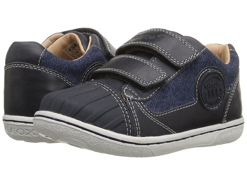 Geox Kids - Baby Flick Boy 49 (Toddler) (Navy) Boy's Shoes