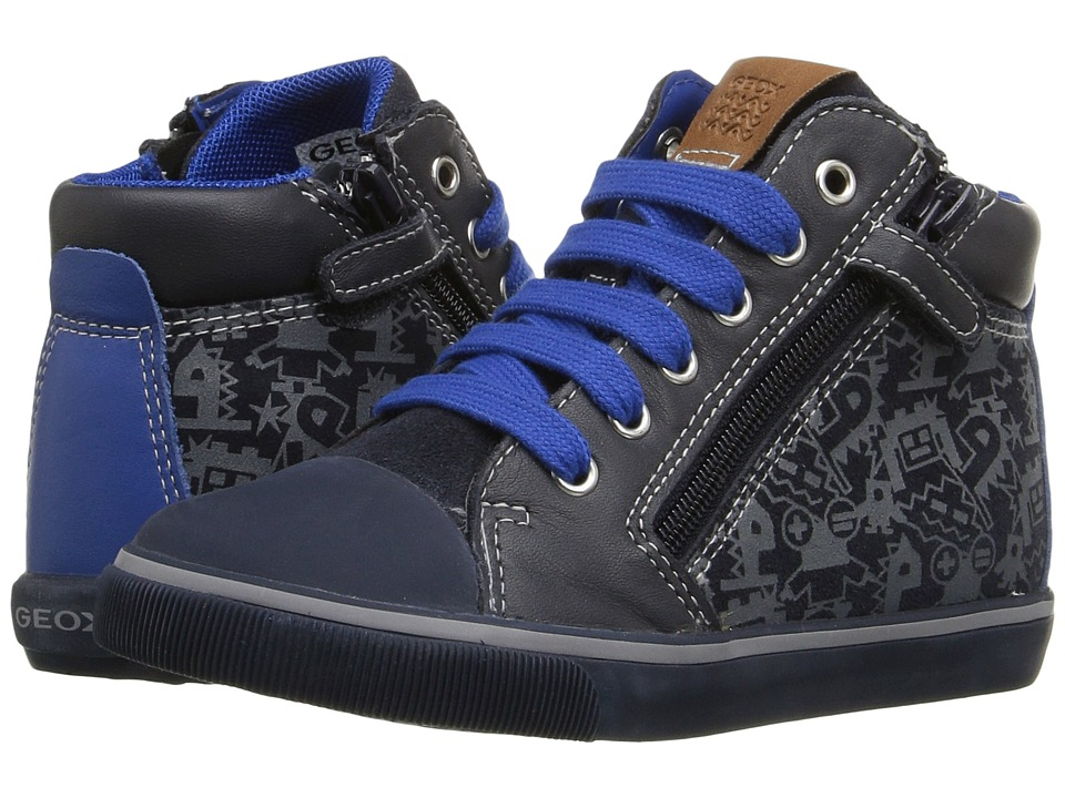 Geox Kids - Baby Kiwi Boy 79 (Toddler) (Royal/Navy) Boy's Shoes