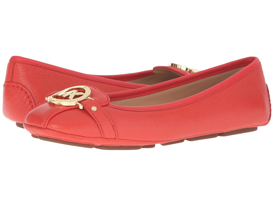 MICHAEL Michael Kors - Fulton Moc (Sienna Tumbled Leather) Women's Flat Shoes