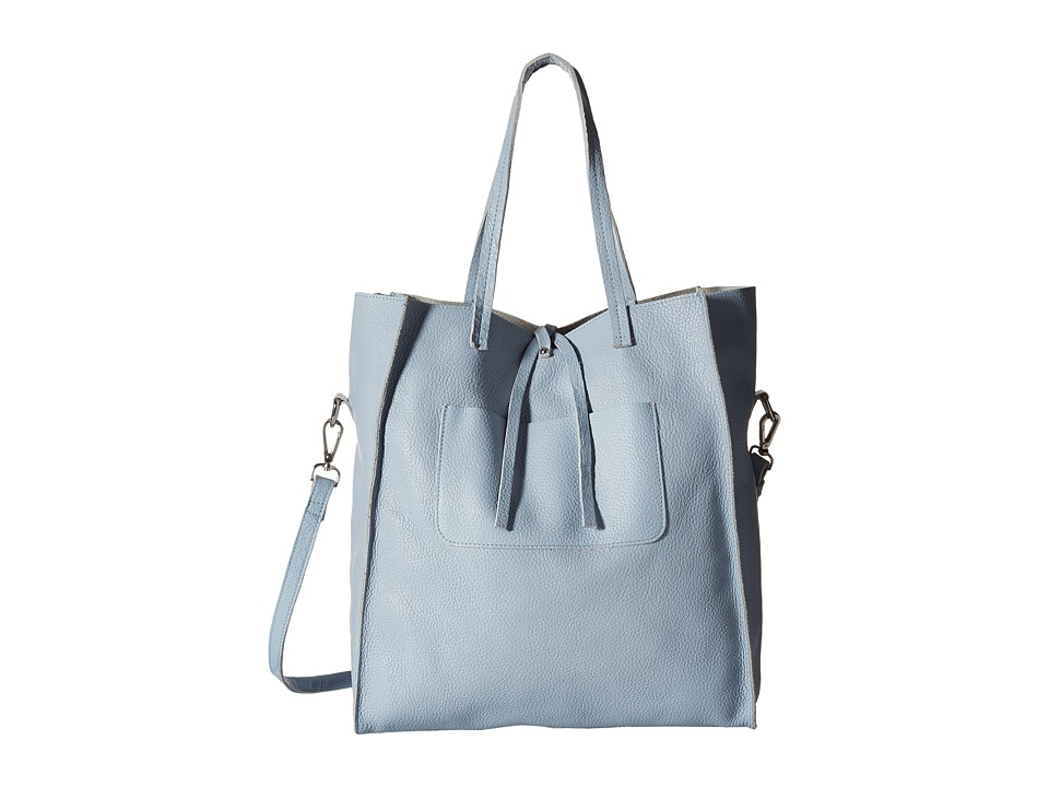 Steve Madden - Bnixxx Leather Tote (Blue) Tote Handbags