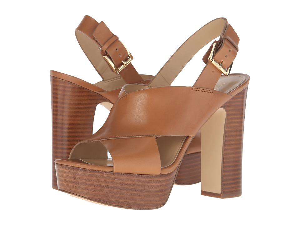 MICHAEL Michael Kors - Mariana Sling (Acorn Vachetta) Women's Sling Back Shoes