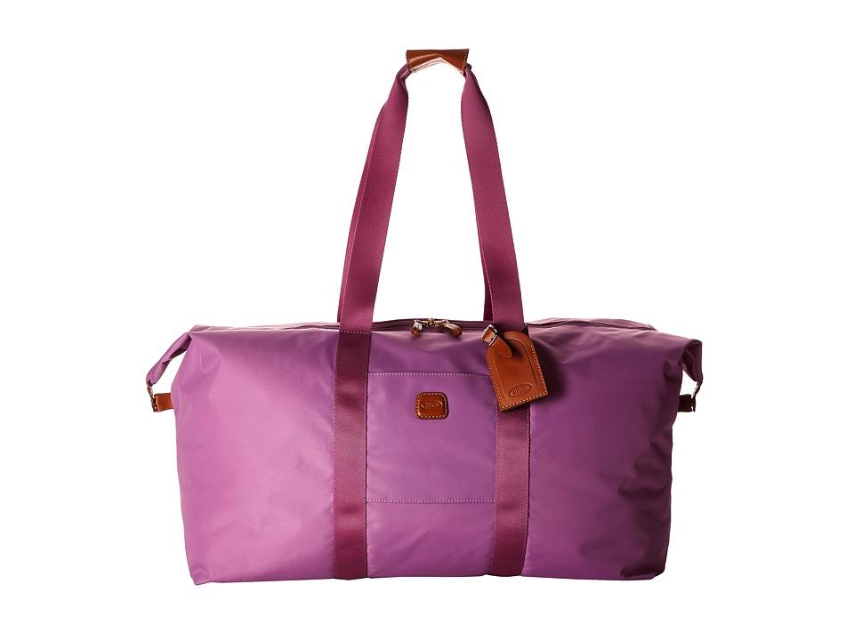 Bric's Milano - X-Bag 22 Folding Duffle (Violet) Duffel Bags