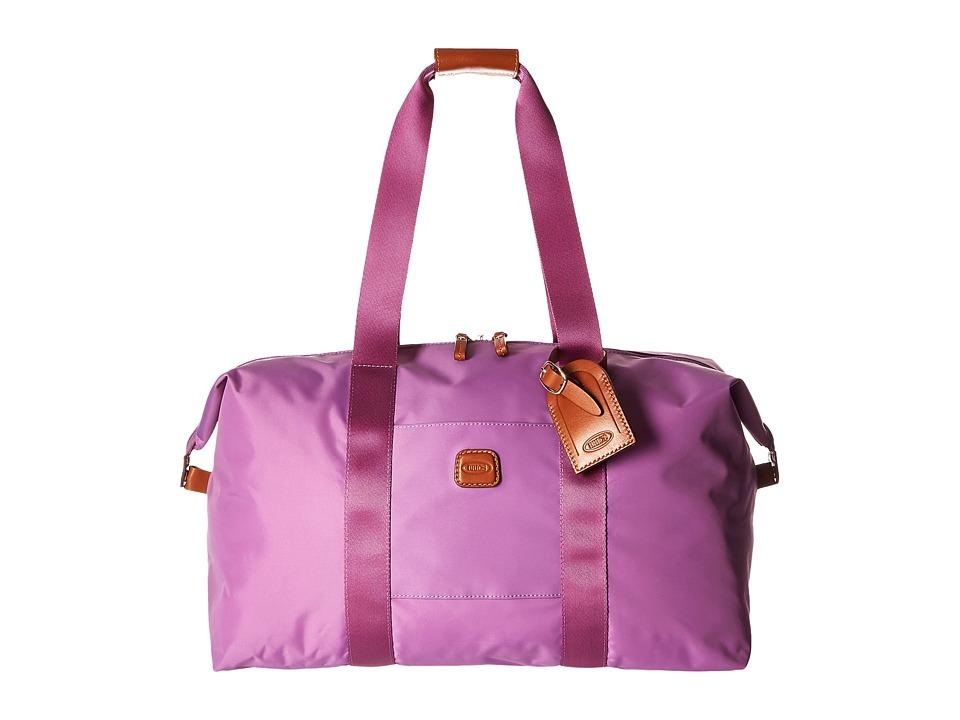 Bric's Milano - X-Bag 18 Folding Duffle (Violet) Duffel Bags