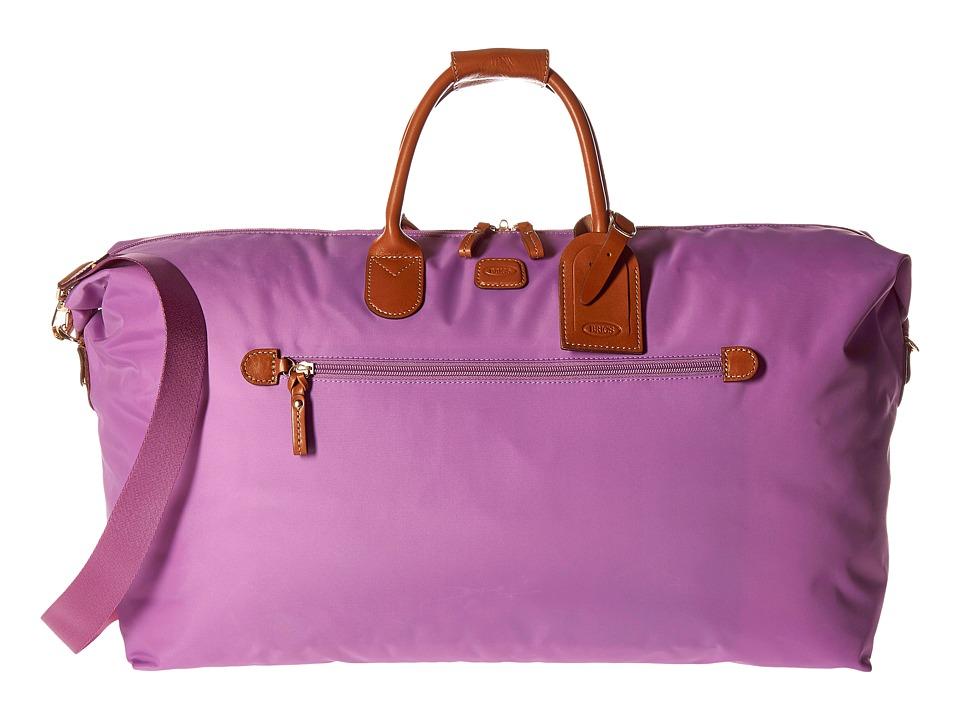 Bric's Milano - X-Bag 22 Deluxe Duffel (Violet) Duffel Bags