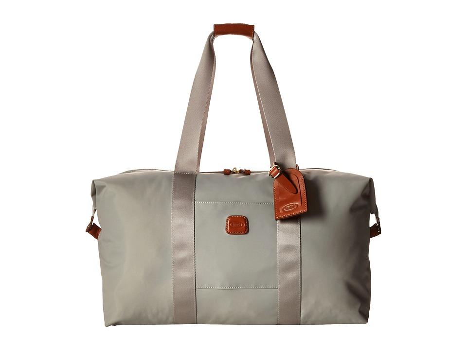 Bric's Milano - X-Bag 18 Folding Duffle (Pearl Grey) Duffel Bags