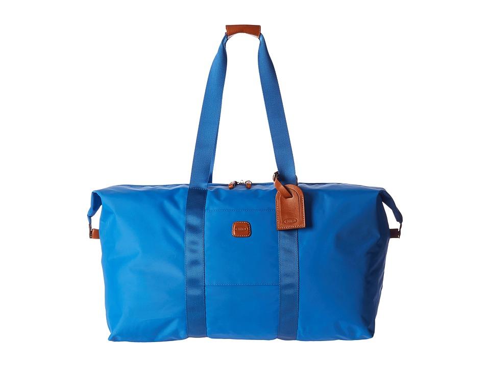 Bric's Milano - X-Bag 22 Folding Duffle (Cornflower) Duffel Bags