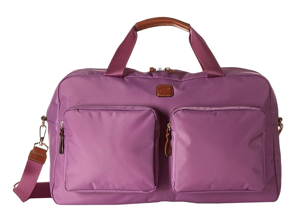 Bric's Milano - Boarding Duffel w/ Pockets (Violet) Duffel Bags
