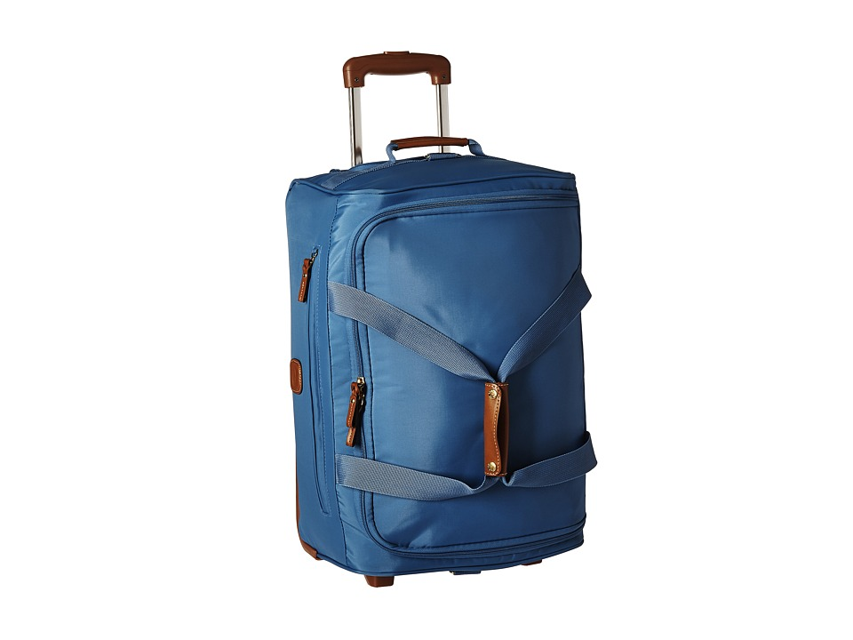 Bric's Milano - X-Bag 21 Carry-On Rolling Duffle (Cornflower) Duffel Bags