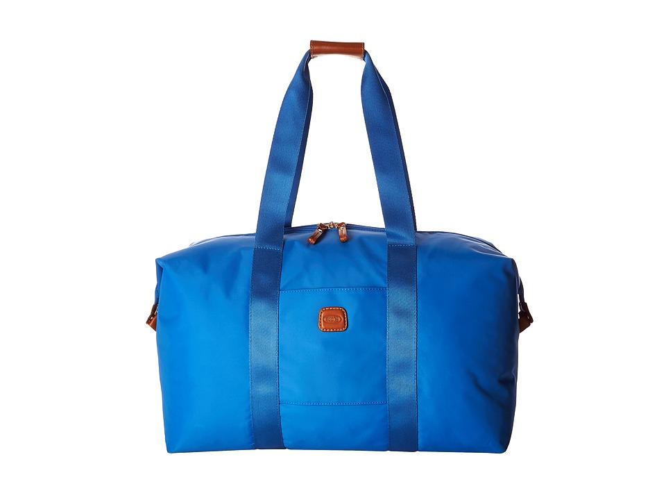 Bric's Milano - X-Bag 18 Folding Duffle (Cornflower) Duffel Bags