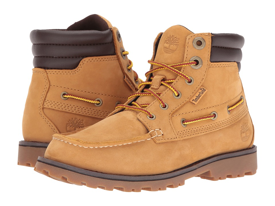Timberland Kids - Oakwell Boot (Little Kid) (Wheat Nubuck) Kid's Shoes