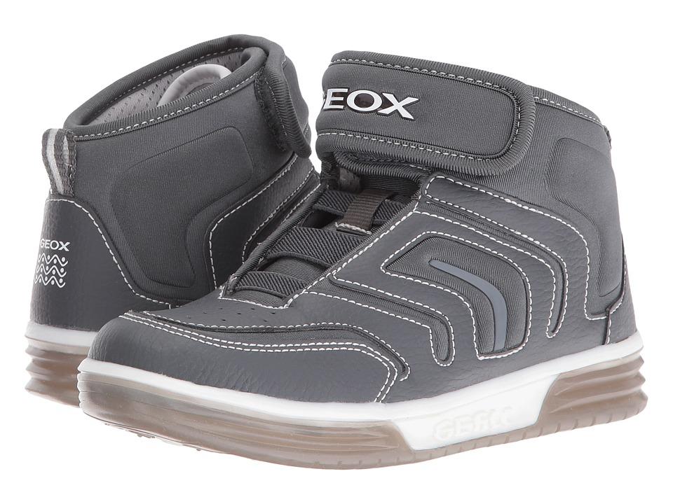 Geox Kids - Jr Argonat Boy 6 (Little Kid/Big Kid) (Grey) Boy's Shoes