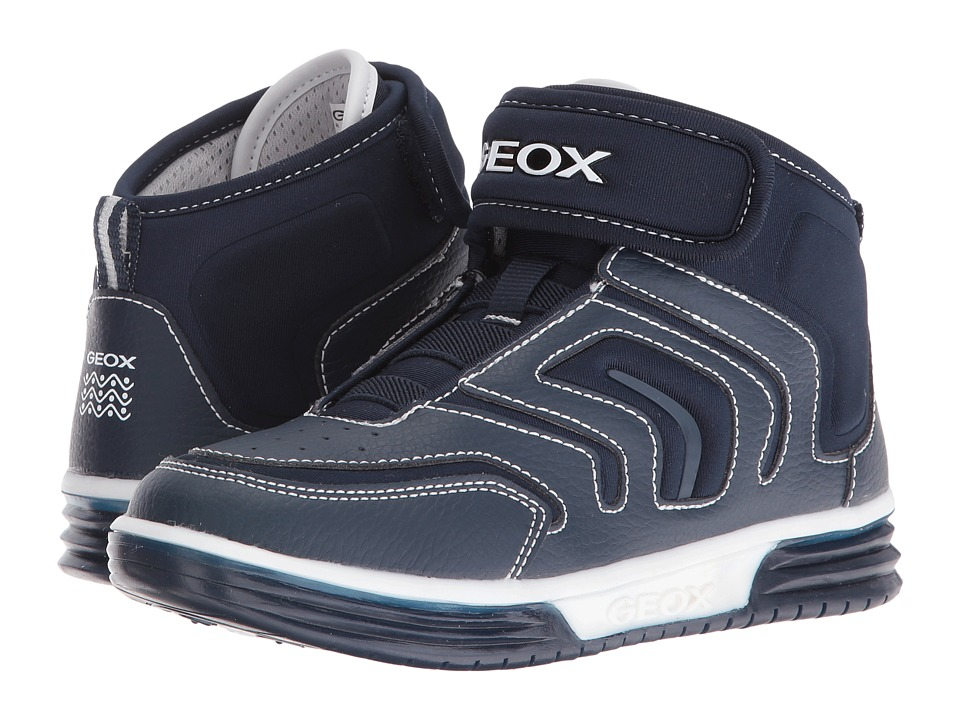 Geox Kids - Jr Argonat Boy 6 (Little Kid/Big Kid) (Navy) Boy's Shoes