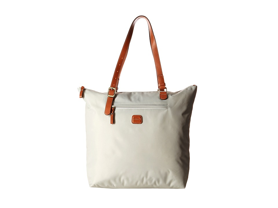 Bric's Milano - X-Bag Sportina Grande Shopper (Pearl Grey) Tote Handbags