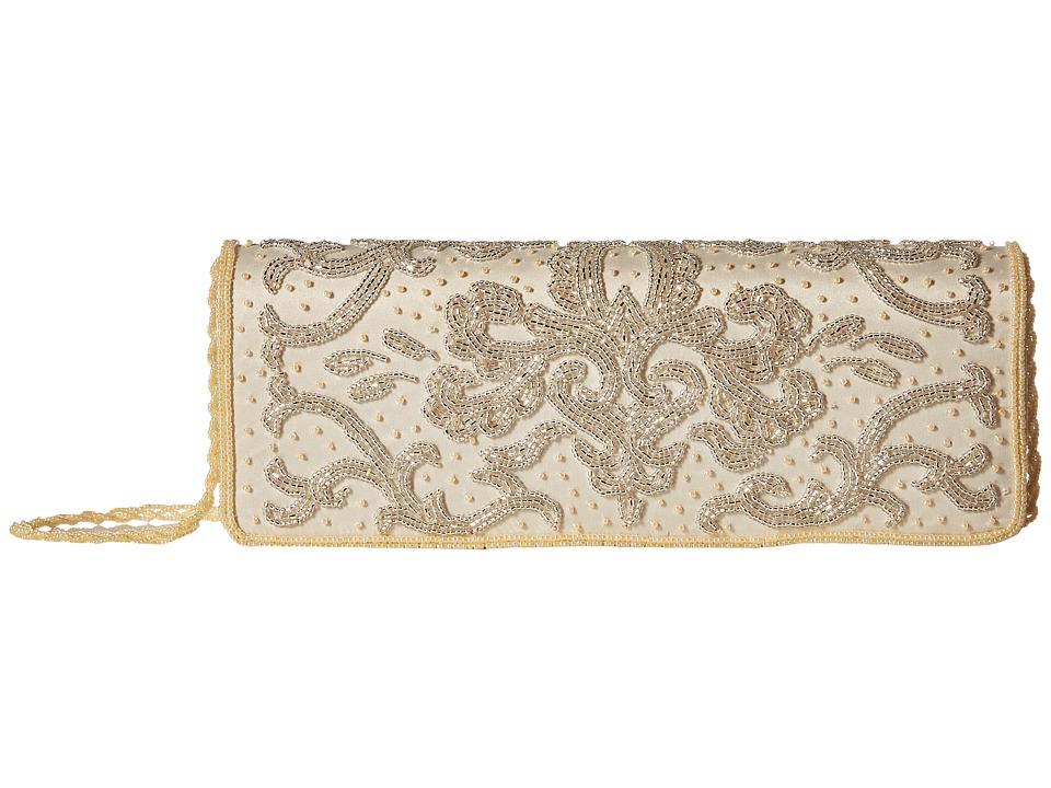 Nina - Hula (Champagne/Silver) Handbags