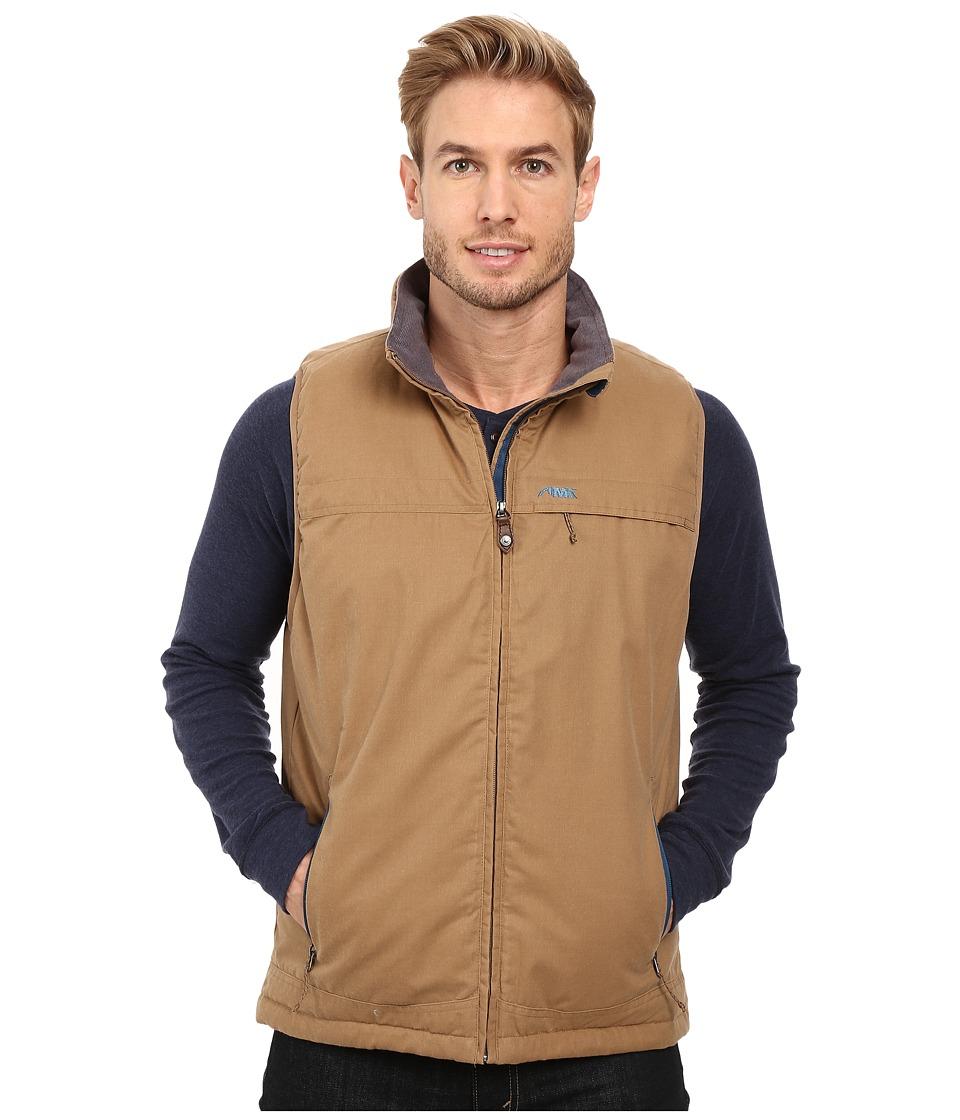 Mountain Khakis - Double Down Vest (Tobacco) Men's Vest