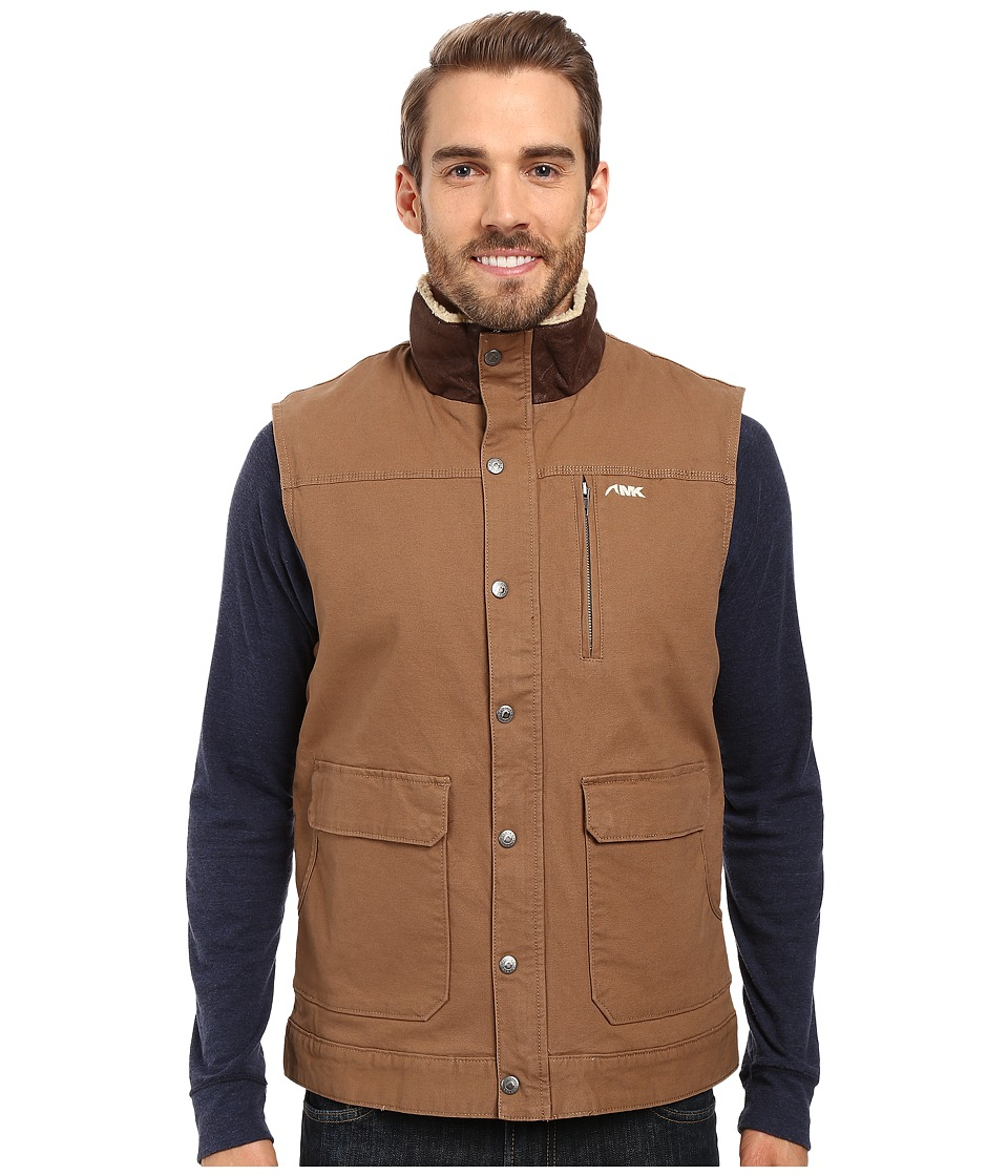Mountain Khakis - Ranch Shearling Vest (Tobacco) Men's Vest