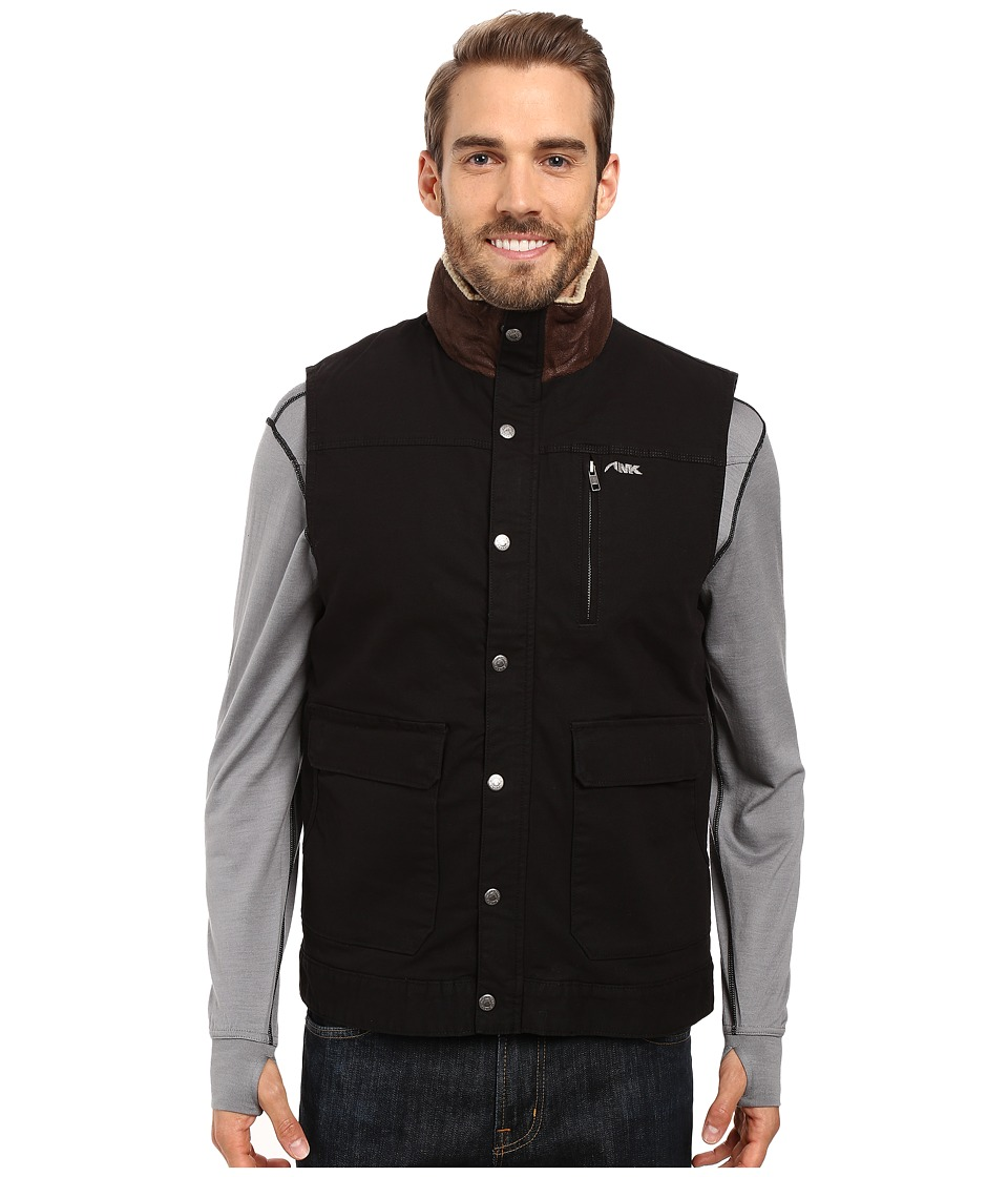 Mountain Khakis - Ranch Shearling Vest (Black) Men's Vest