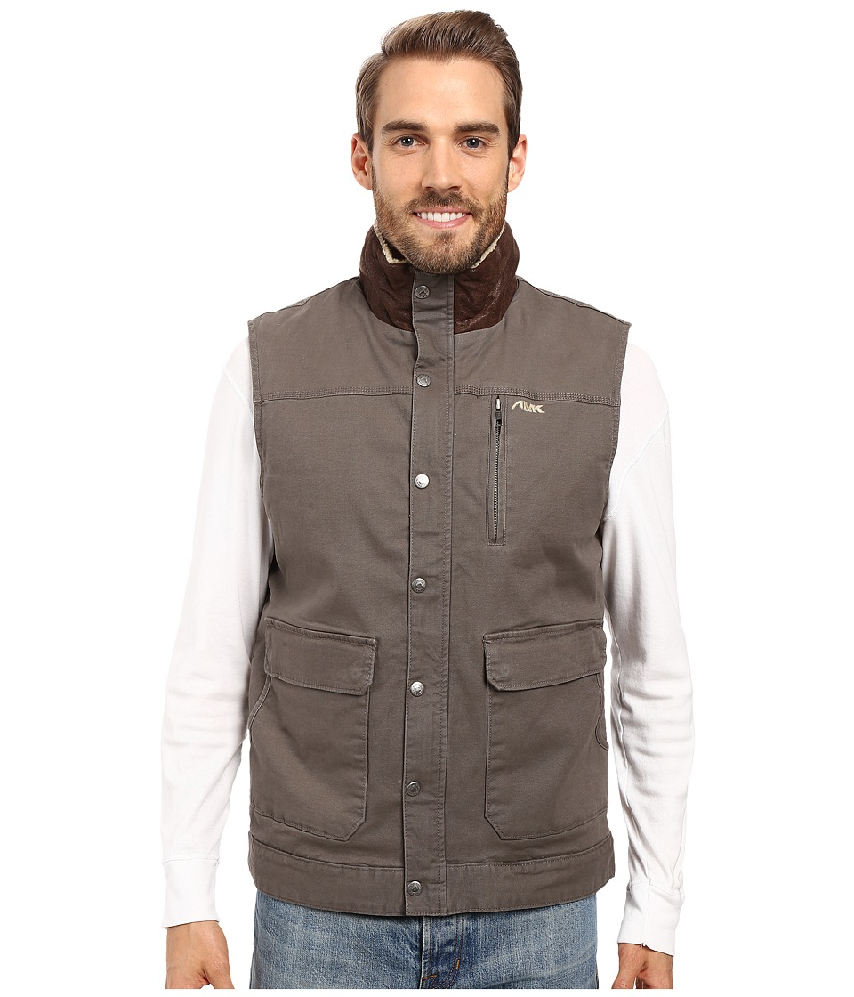 Mountain Khakis - Ranch Shearling Vest (Terra) Men's Vest