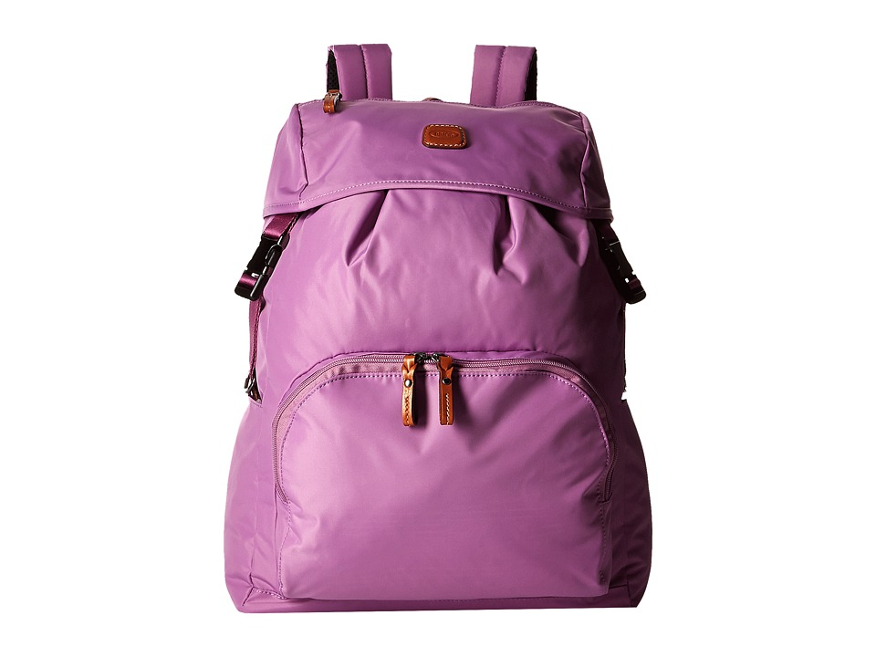 Bric's Milano - X-Bag Large Backpack (Violet) Backpack Bags