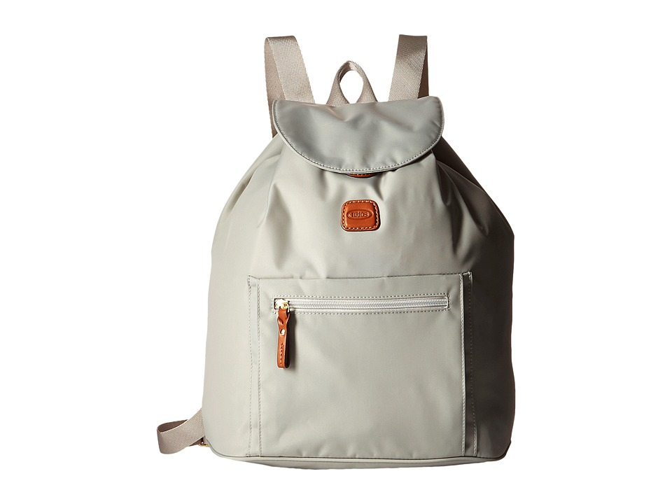 Bric's Milano - X-Bag Backpack (Pearl Grey) Backpack Bags