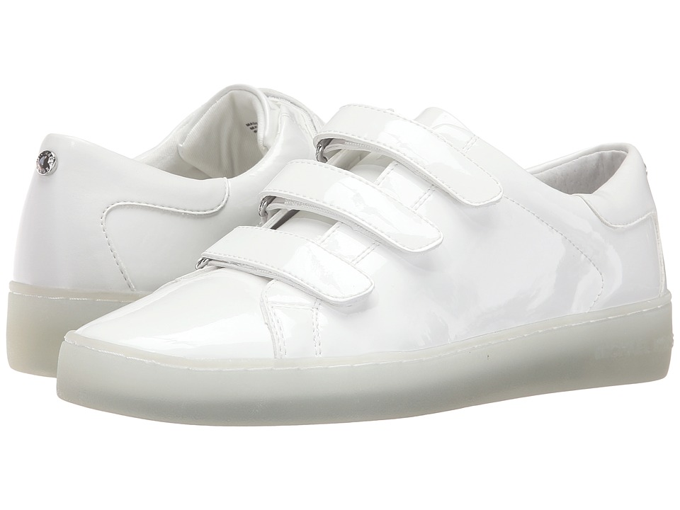 MICHAEL Michael Kors - Craig Sneaker (Optic White Patent/Nappa) Women's Shoes