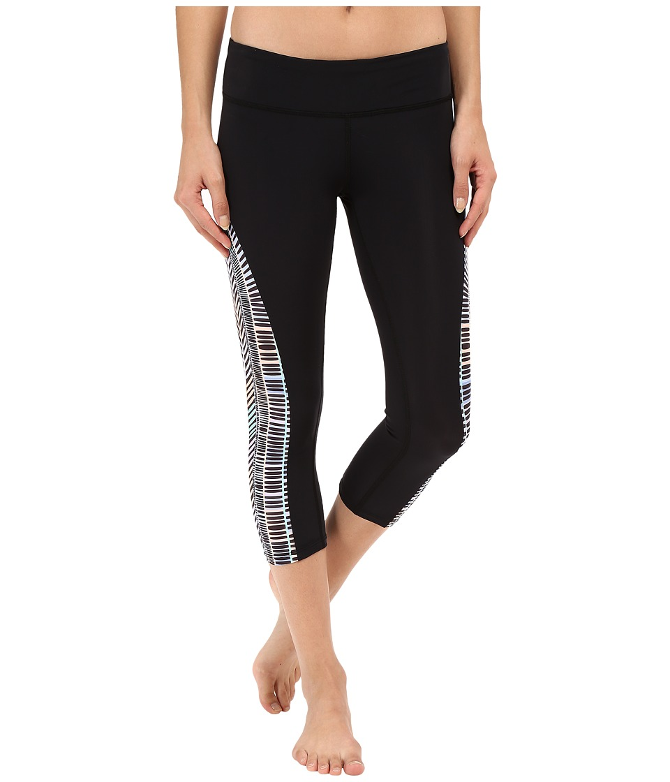 Mara Hoffman - Voyager Cropped Leggings (Black Multi) Women's Casual Pants