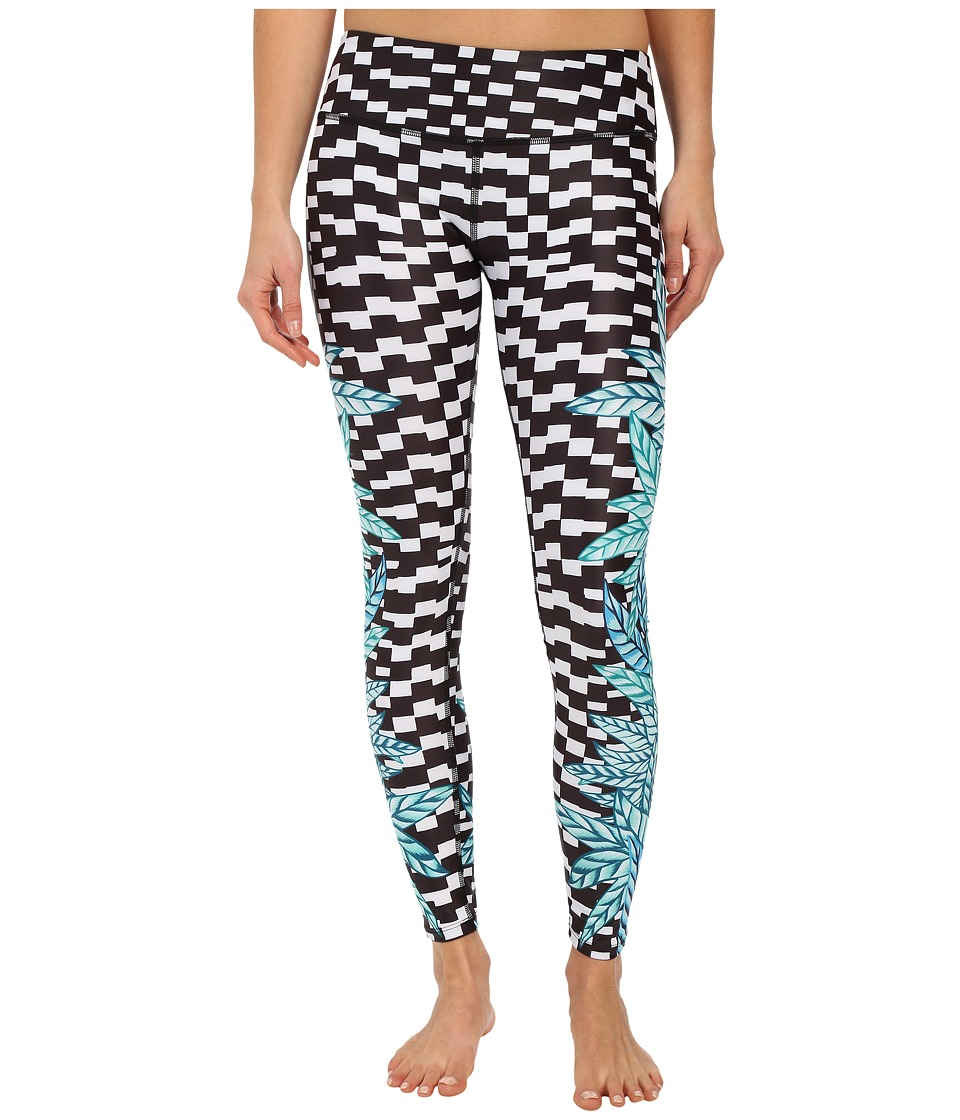 Mara Hoffman - Botanica Long Leggings (Black Multi) Women's Casual Pants