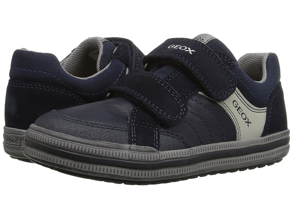 Geox Kids - Jr Elvis 31 (Toddler/Little Kid) (Navy) Boy's Shoes
