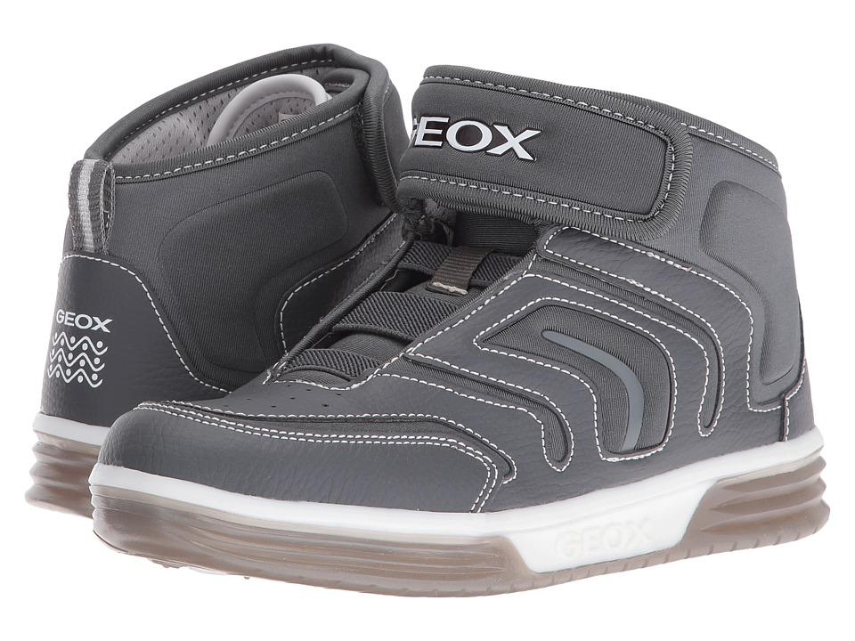 Geox Kids - Jr Argonat Boy 6 (Big Kid) (Grey) Boy's Shoes