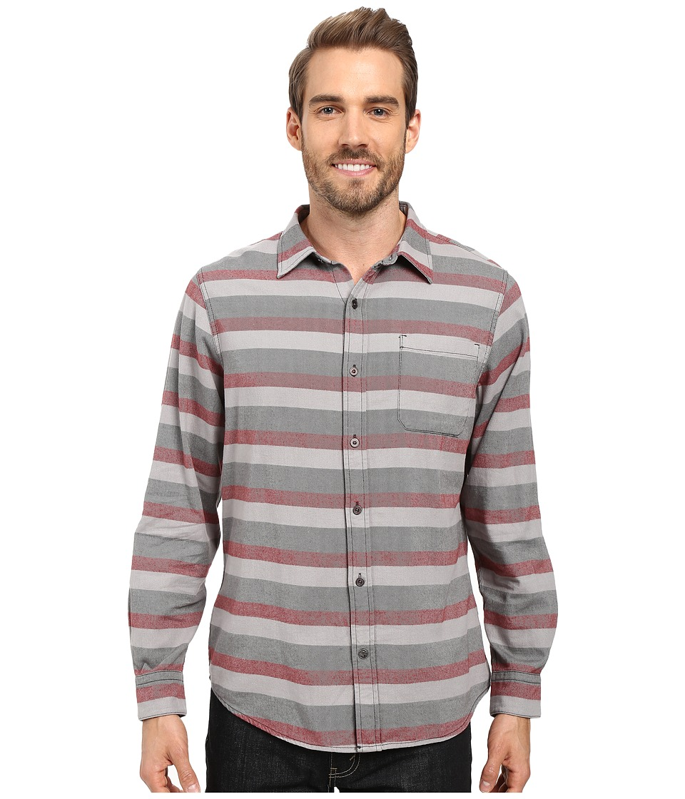 Mountain Khakis - Fall Line Flannel Shirt (Malbec) Men's Clothing