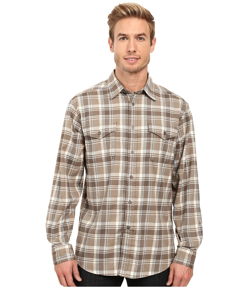 Mountain Khakis - Peaks Flannel Shirt (Firma) Men's Clothing