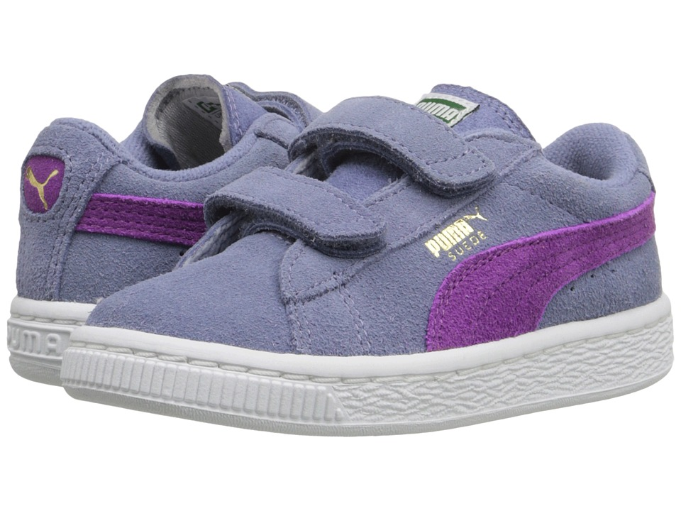 Puma Kids - Suede 2 Straps Inf (Toddler) (Tempest/Hollyhock) Girls Shoes