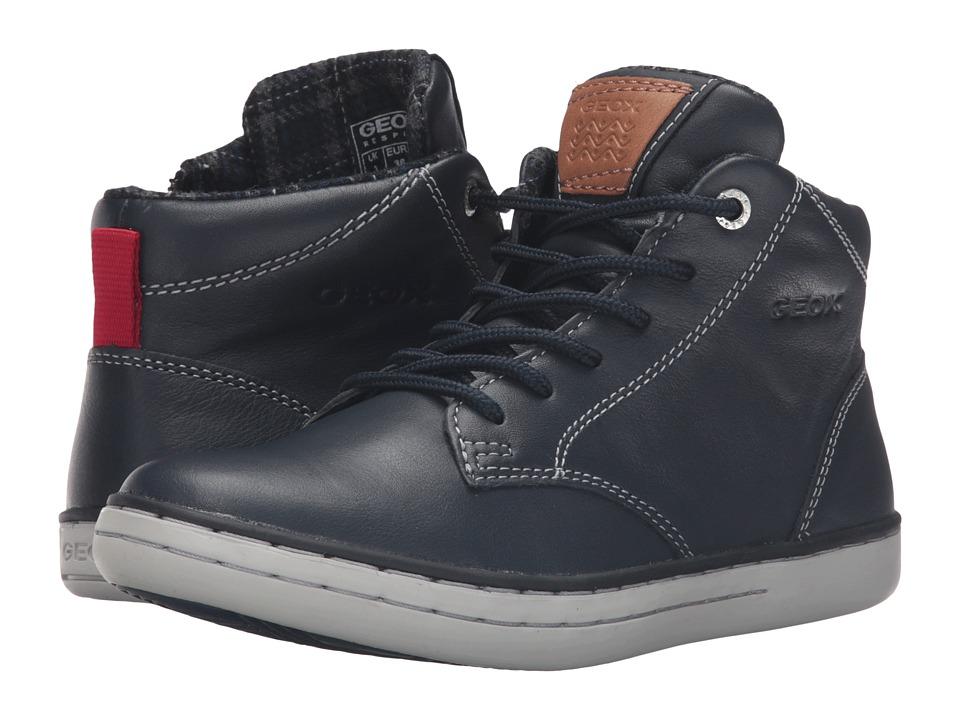 Geox Kids - Jr Garcia Boy 30 (Big Kid) (Navy) Boy's Shoes