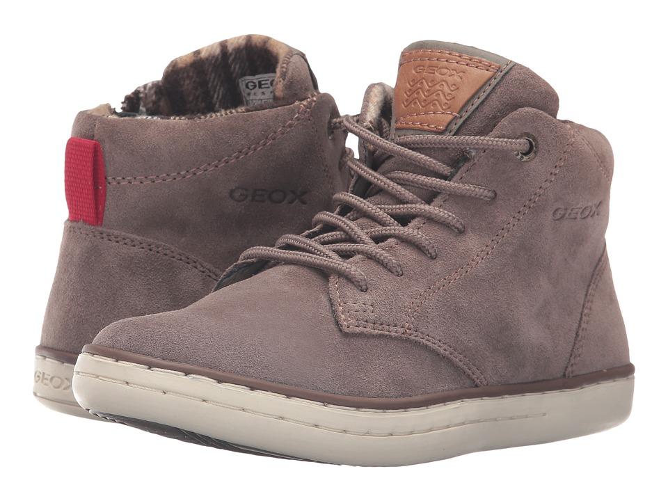 Geox Kids - Jr Garcia Boy 29 (Big Kid) (Dark Beige) Boy's Shoes