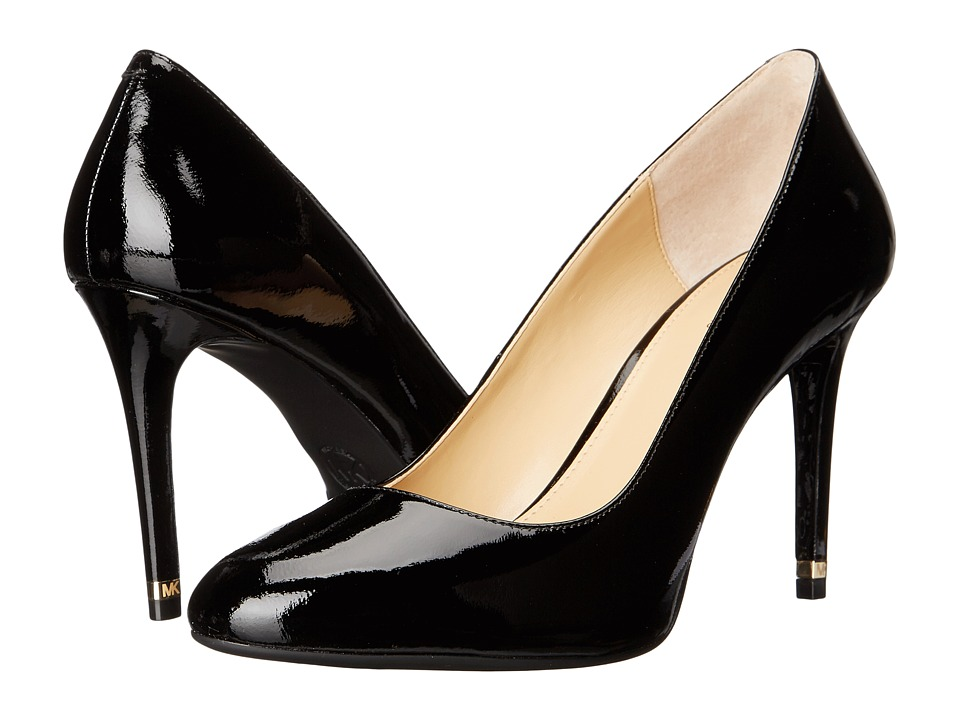 MICHAEL Michael Kors - Ashby Flex Pump (Black Patent) Women's Shoes