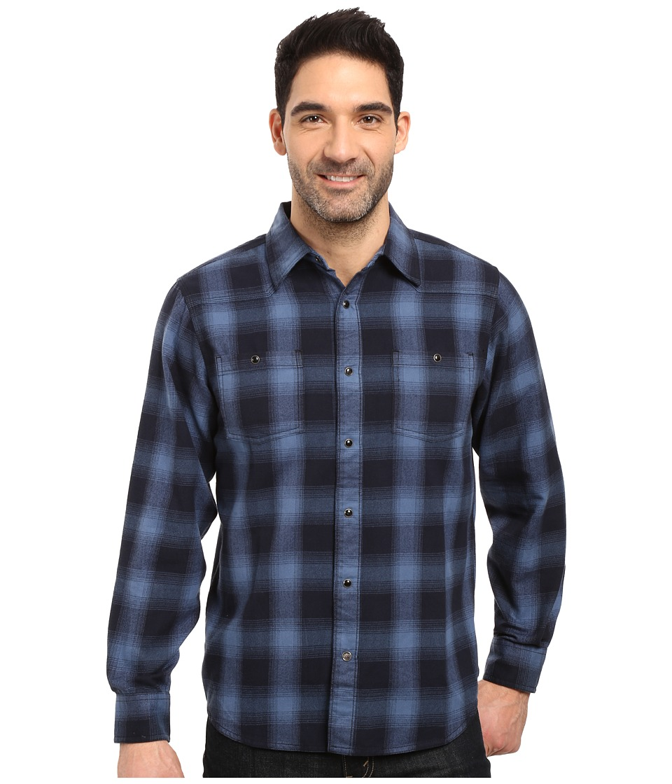 Mountain Khakis - Saloon Flannel Shirt (Moonlit) Men's Clothing