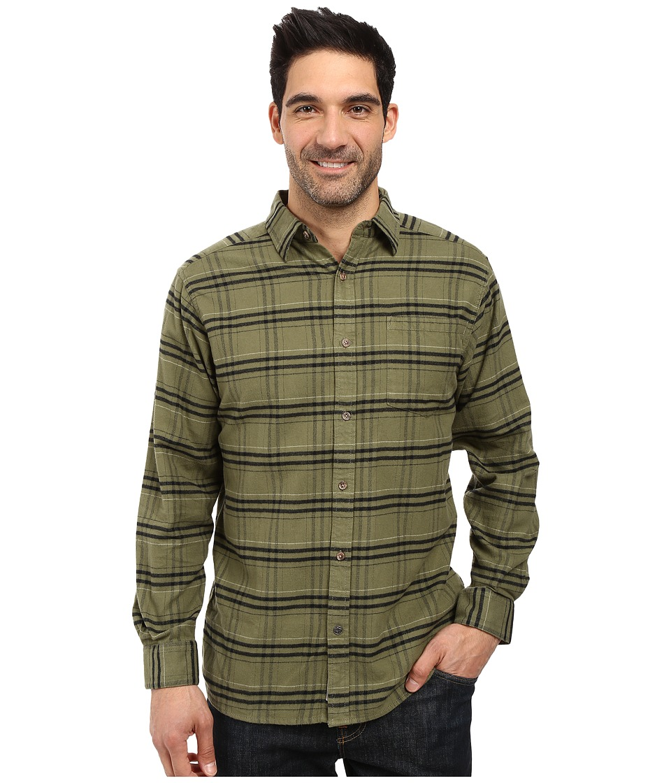 Mountain Khakis - Peden Plaid Shirt (Olive Drab) Men's Clothing