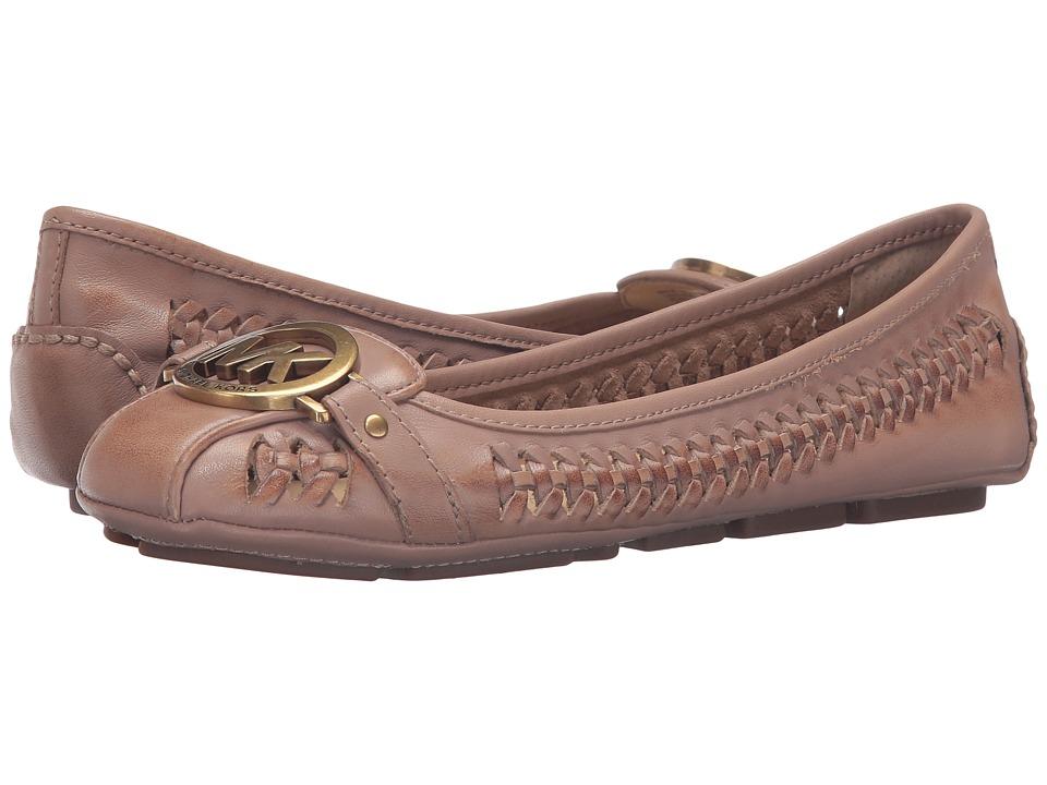 MICHAEL Michael Kors - Fulton Moc Woven (Dark Khaki Oily Vachetta) Women's Shoes