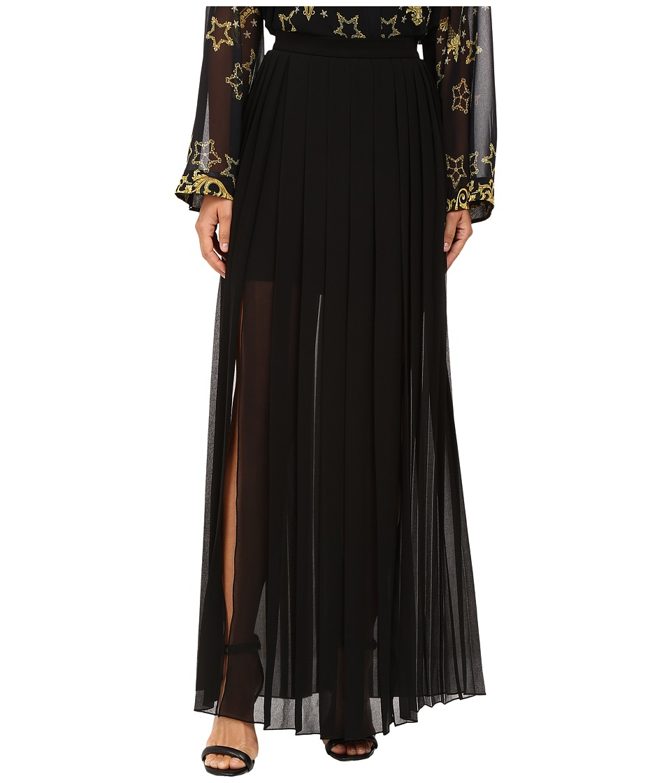 Versace Collection - Maxi Skirt (Black) Women's Skirt