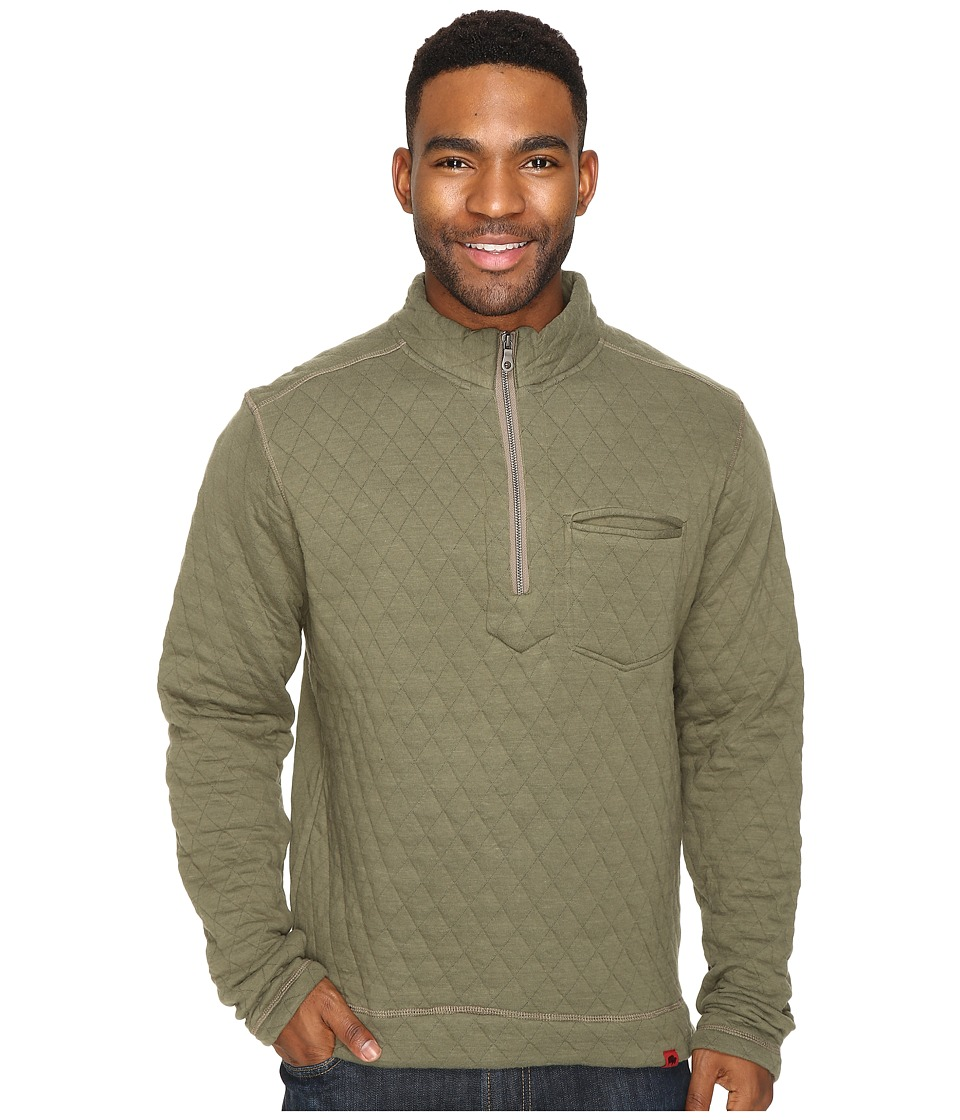 Mountain Khakis - Hideaway Pullover Sweater (Olive Drab) Men's Sweater