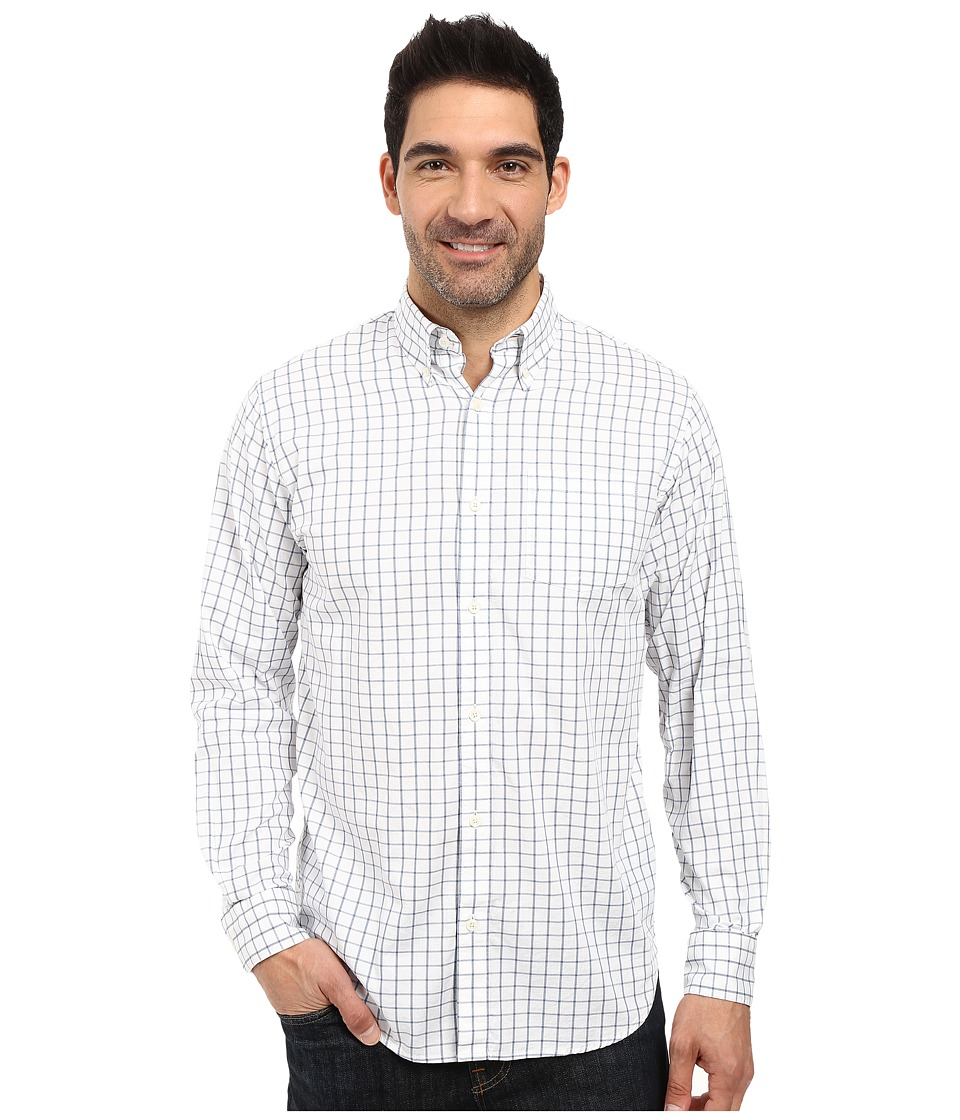 Mountain Khakis - Davidson Stretch Oxford Shirt (Moonlit Check) Men's Clothing