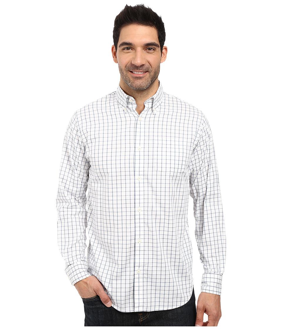 Mountain Khakis - Davidson Stretch Oxford Shirt (Moonlit Check) Men's Clothing