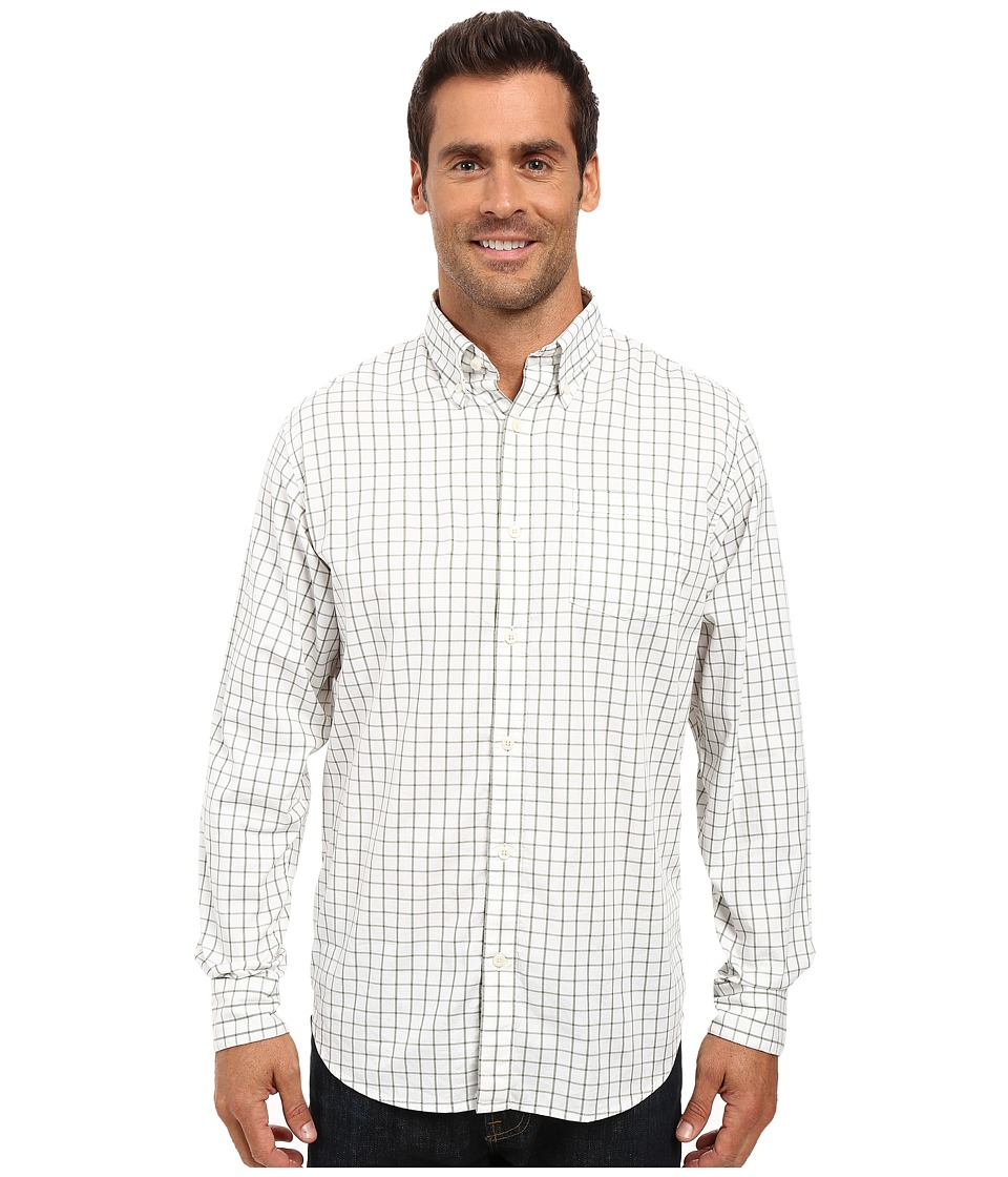 Mountain Khakis - Davidson Stretch Oxford Shirt (Scout Check) Men's Clothing