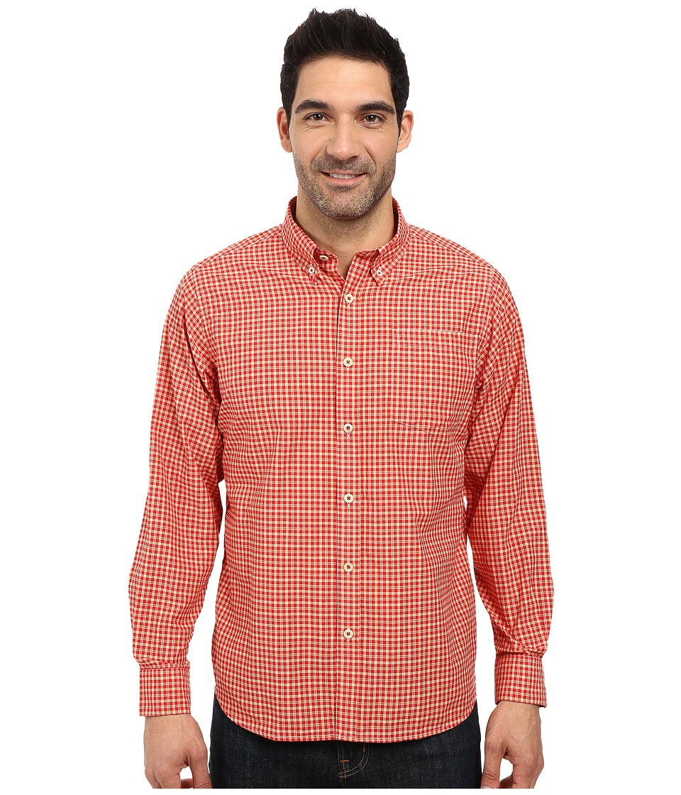 Mountain Khakis - Spalding Gingham Shirt (Tomato) Men's T Shirt