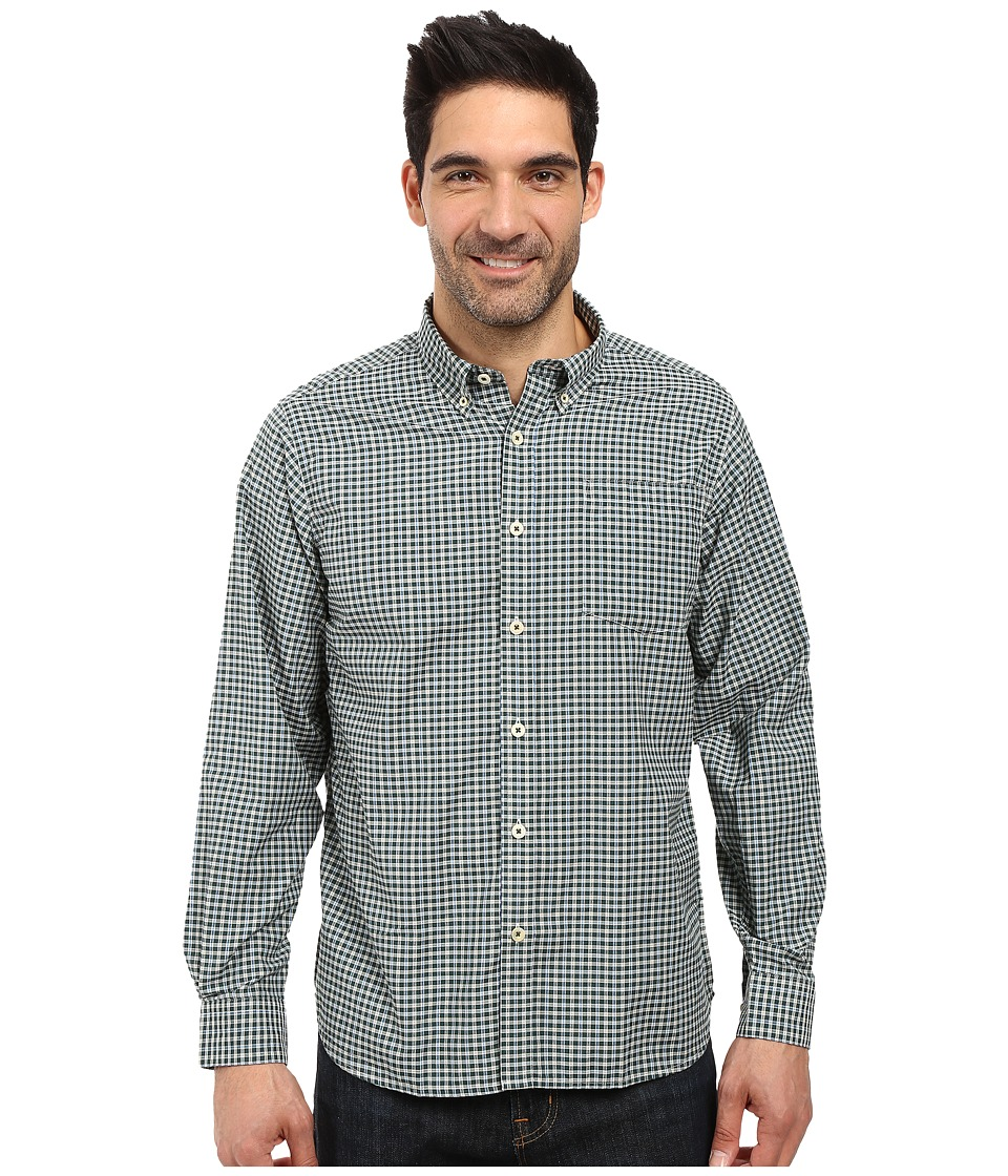 Mountain Khakis - Spalding Gingham Shirt (Deep Jade) Men's T Shirt