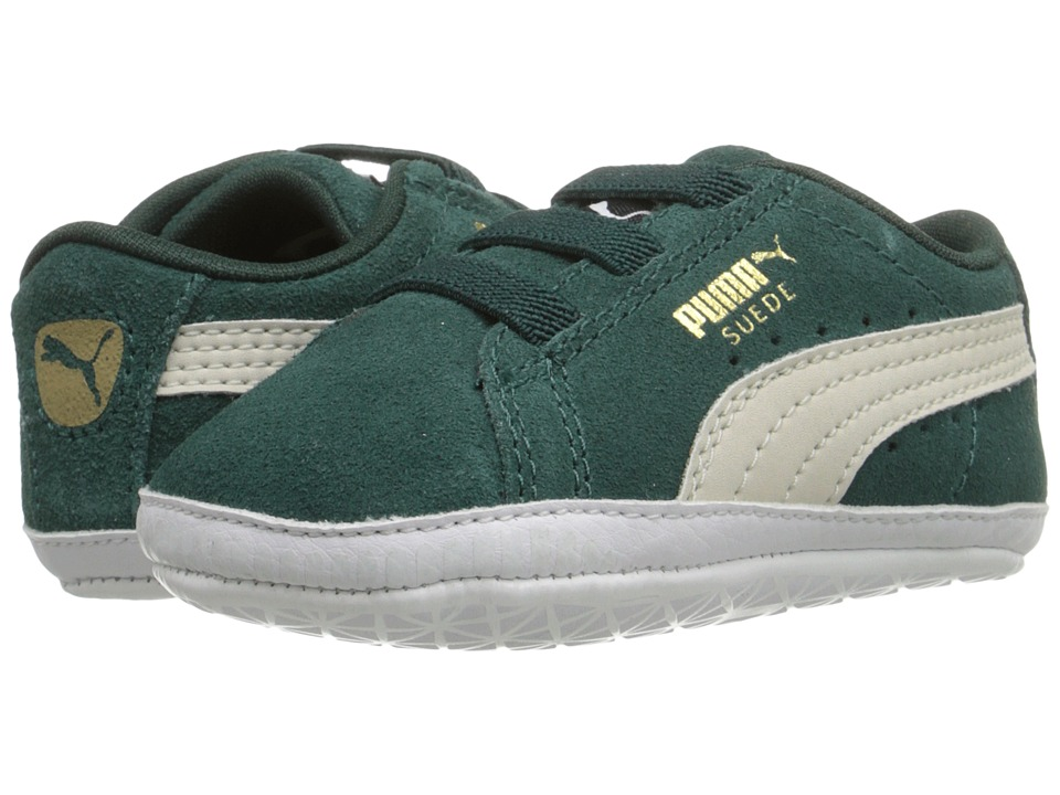 Puma Kids - Suede Crib (Infant/Toddler) (Ponderosa Pine/Birch) Boy's Shoes