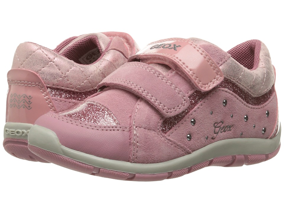 Geox Kids - Baby Shaax Girl 14 (Toddler) (Dark Pink) Girl's Shoes