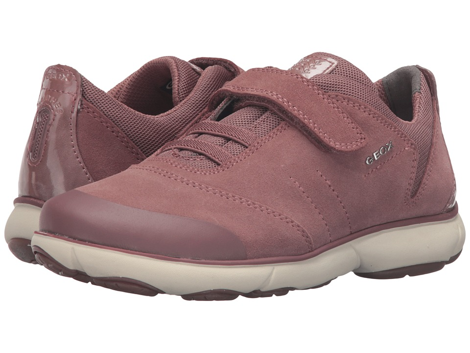 Geox Kids - Jr Nebula Girl 1 (Little Kid/Big Kid) (Old Rose) Girl's Shoes