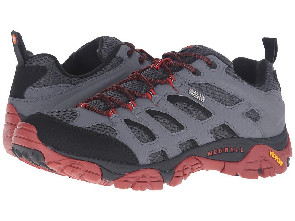 Merrell - Moab Waterproof (Castle Rock/Black) Men's Lace up casual Shoes